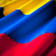 Colombian flag — Stockfoto