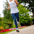 Stockfoto: Fit womrunning