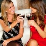 Women in a bar — Stock Photo #7771534