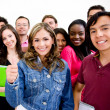 Group of university students — Stock Photo #7771539