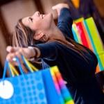 Happy shopping woman — Stock Photo #7771543