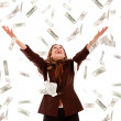 Money rain — Stock Photo #7771580