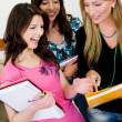 Group of female students — Stock Photo #7771655