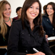 Female student smiling — Stock Photo #7771666