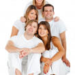 Happy group of friends — Stock Photo #7771671