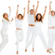 Group of jumping — Stock Photo #7771688