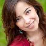 Girl portrait smiling — Stock Photo #7771715