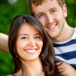 Beautiful couple portrait — Stock Photo #7771763