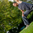 Man doing yoga — Stock Photo #7772011