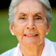 Lovely old woman - Stock Photo