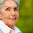 Lovely elder woman — Stock Photo