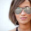 Woman with sunglasses — Stock Photo #7772279