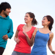 Stock Photo: Jogging outdoors