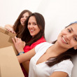Girls moving — Stock Photo #7772326