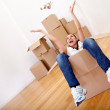 Woman packing — Stock Photo #7772331