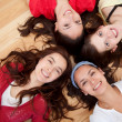 Stock Photo: Group of girls