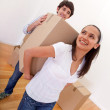 Couple moving — Stock Photo #7772372