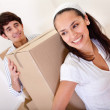 Couple moving — Stock Photo #7772379