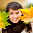 Royalty-Free Stock Photo: Autumn woman portrait