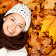 Autumn woman portrait — Stock Photo #7772388
