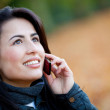 Woman on the phone — Stock Photo #7772431