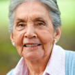 Lovely old woman — Stock Photo