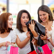 Foto Stock: Women shopping