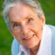 Lovely elder woman - Stock Photo