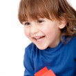 Stock Photo: Boy portrait smiling
