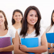 Royalty-Free Stock Photo: Female students