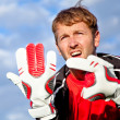 Football goalkeeper - 