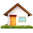 3D House isolated — Stock Photo #7772541