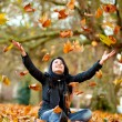 Autumn woman — Stock Photo #7772546