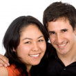 Diverse happy couple — Stock Photo #7772671