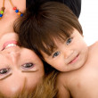 Baby and her mum - Foto de Stock