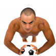 Male athlete — Stock Photo