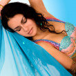 Beautiful arabic belly dancer — Stock Photo #7772753