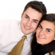 Young business couple — Stock Photo #7772760