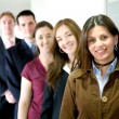 Business team in an office — Stock Photo #7772765