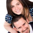Couple of young lovers - Foto Stock