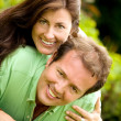 Lovely couple portrait — Stock Photo