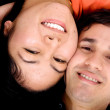Royalty-Free Stock Photo: Happy couple portrait
