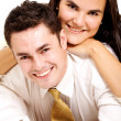 Couple of young lovers — Stock Photo #7772820