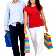 Couple shopping out — Stock Photo #7772835