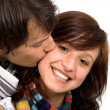 Young couple smiling — Stock Photo #7772838