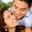 Красивая пара в любви — Стоковое фото