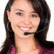 Customer service girl — Stock Photo #7772843