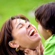 Mother and son having fun — Stock Photo #7772857
