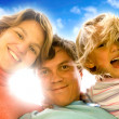 Happy family portrait — Stock Photo #7772861