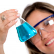 Female chemist — Stock Photo #7772909